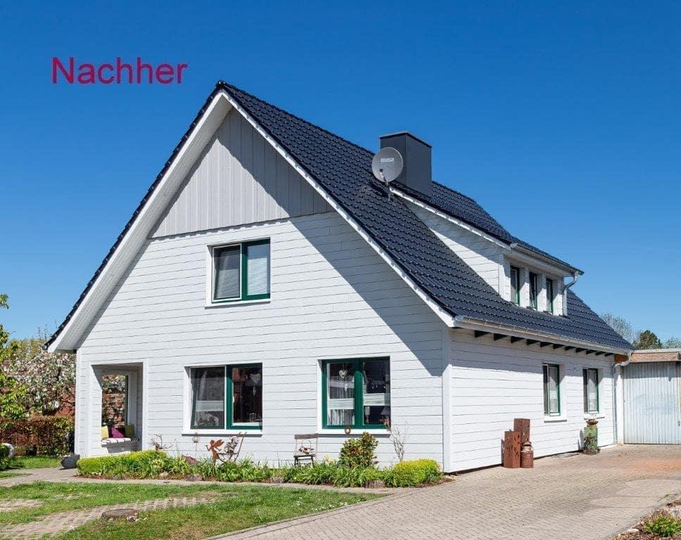 Dach- und Fassadensanierung Cuxhaven Diers Holzbau RoofMaster