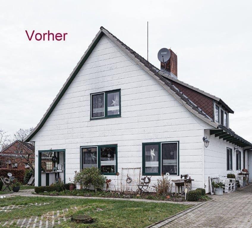 Fassadensanierung in Cuxhaven Diers Holzbau
