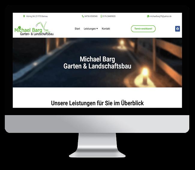 ReyeltMedia Webdesign Referenzen Michael Barg Garten und Landschaftsbau