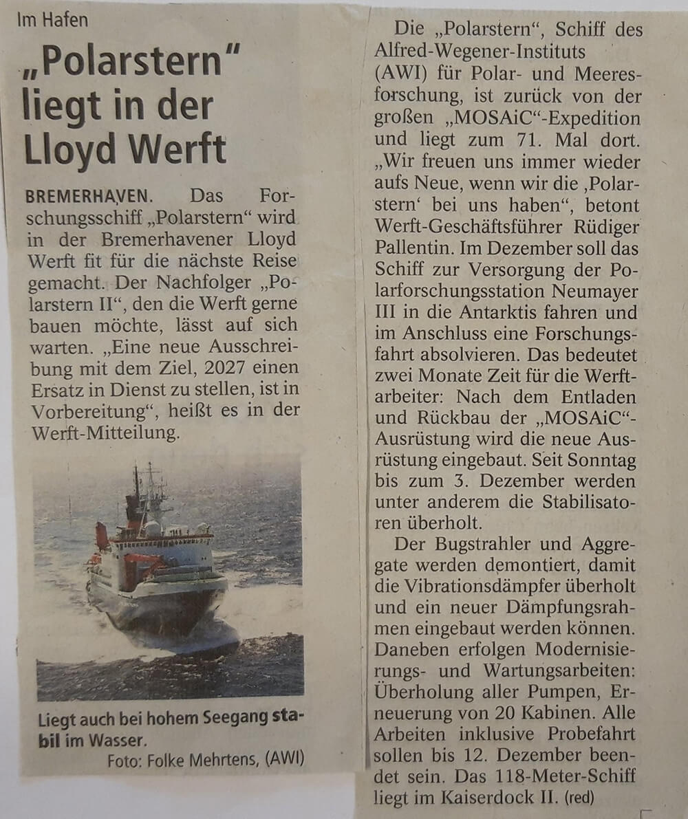Schiffsinnenausbau Tischlerei Heinz Saborowski